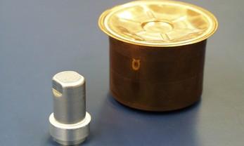 Fermeture étanche à l'hélium de containers