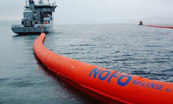 Production de barrages anti-pétrole