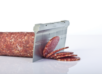 snijden van vleeswaren