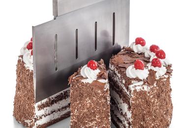 snijden van taarten