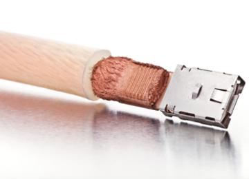 verbinden van koperen 50mm² flexibele kabel met connector
