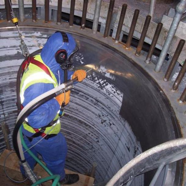 verwijderen van ruwe olie van pompen (half gereinigd)