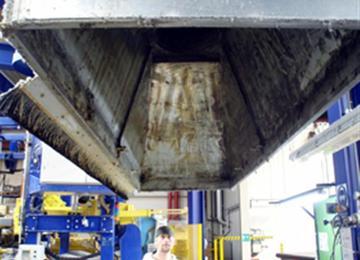 industriële afzuiginstallatie voor reiniging
