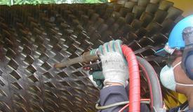 reinigen van turbines