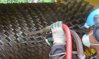 nettoyage de turbines