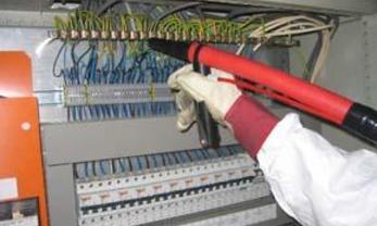Nettoyage de coffrets électriques