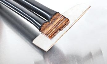 Soudage d'aluminium sur du cuivre