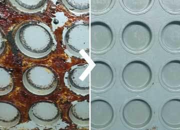 Nettoyage des matrices: avec Supercleaner B