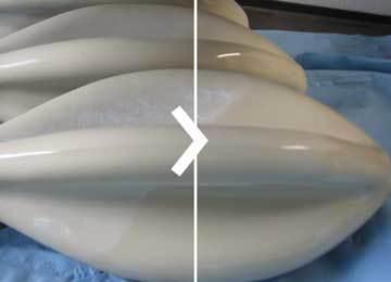 nettoyage de moules en céramique par ultrasons