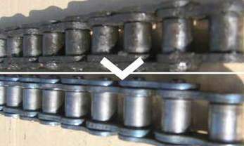 Nettoyage de chaînes et de bandes transporteuses