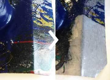 Inkt ultrasoon verwijderen met Supercleaner C5