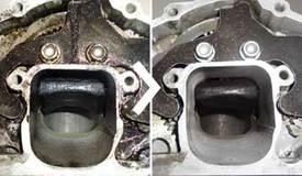 reinigen van motoren en motoronderdelen