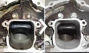 Nettoyage de moteurs et de pièces de moteur