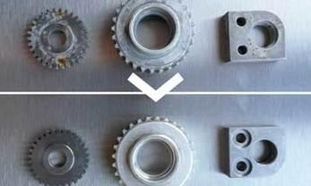 Nettoyage d'engrenages et d'autres pièces de précision